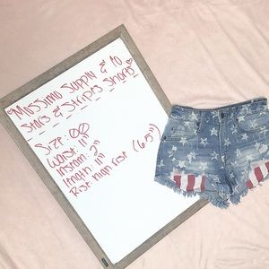 Mossimo & Co. Stars & Stripes Shorts 🇺🇸